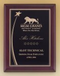 Shooting Star Rosewood Piano Finish Plaque Achievement Award Trophies