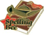 Spelling Bee Pin Chenille Lapel Pins