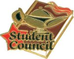 Student Council Pin Chenille Lapel Pins