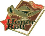 Honor Roll Pin Chenille Lapel Pins