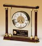 Piano-Finish Mantle Clock Executive Gift Awards