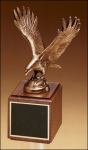 Fully Modeled Antique Bronze Eagle Casting Patriotic Awards