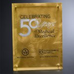 Gold Alloy Plaque Sales Awards
